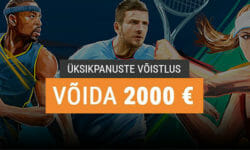 Coolbet üksikpanuste võistlus: tee panused ja võida peaauhind €2000