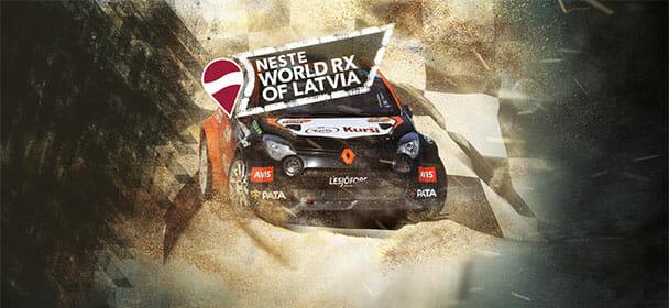 Võida pilet Neste World RX Läti etapile