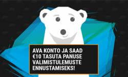 Coolbet Eesti annab valimistulemuste ennustamiseks €10 tasuta panuse