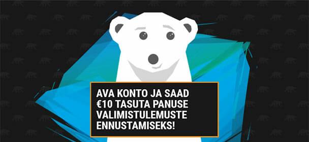 Coolbet Eesti annab tasuta panuse valimistulemuste ennustamiseks