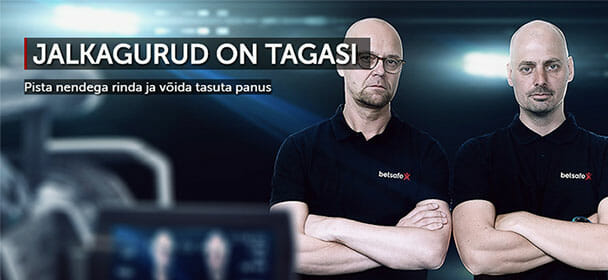 Jalkagurud Kalev Kruus ja Toomas Vara on tagasi - võida tasuta panus
