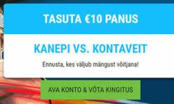 Coolbet annab Kanepi vs. Kontaveit mängule €10 tasuta panuse