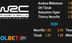 WRC Monte Carlo Rally panused Coolbeti mänguportaalis