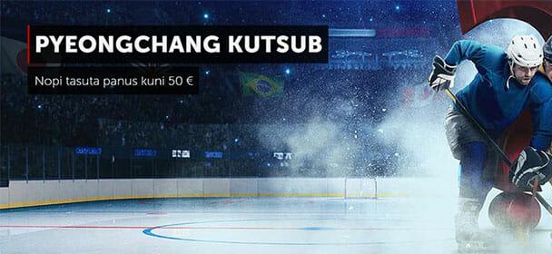 Ennusta tasuta PyeongChang Olümpiamängud 2018 tulemusi ja võida tasuta panus
