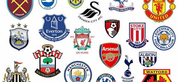 Inglise Premier League jalgpalliklubide hüüdnimed 2017/2018 hooajal