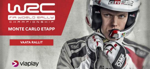 WRC ralli 2018 otseülekanded Eesti keeles – vaata tasuta