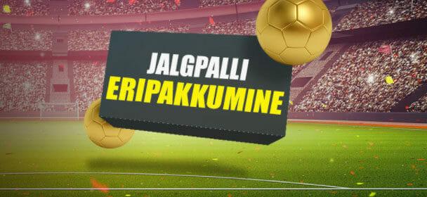 cac263af185 Jalgpalli eripakkumine Optibetis – 3 riskivaba panust
