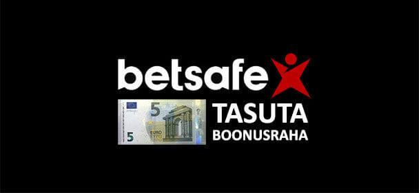 Betsafe spordiennustuses 5 eurot tasuta boonusraha