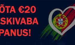 Eurovisioon 2018 eripakkumine Coolbetis – €20 riskivaba panus