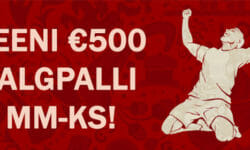 Valmistu Jalgpalli MM-iks Olybetis – €500 väärtusega spordiennustuspakett