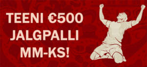 Olybet - Teeni €500 väärtuses spordipakett jalgpalli MM-ks