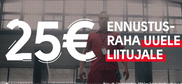Liitu nüüd Olybetiga ja saad €25 spordiennustuse boonuse – sissemakset pole vaja