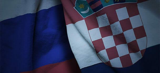 Võimendatud koefitsient Venemaa – Horvaatia mängule Coolbetis