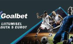 Goalbet spordiennustus – uuele kliendile 5 EUROT TASUTA