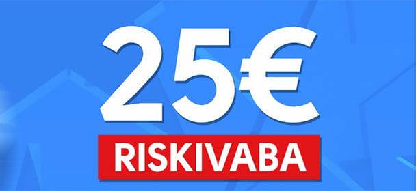 Liitu nüüd Olybetiga ja Sinu esimene kuni €25 ennustus on riskivaba