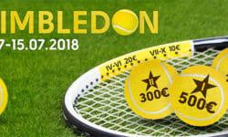 Wimbledon 2018 ennustusvõistlus Olybetis – €1000 auhinnafond
