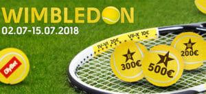 Olybet - Wimbledon 2018 ennustusvõistlus