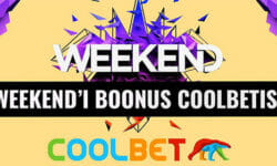 Weekend Festival 2018 osalejatele tasuta 10 eurot Coolbetis