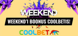 Coolbet - Weekend Festival 2018 boonus