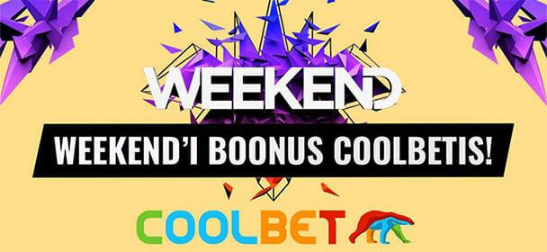 Coolbet - Weekend Festival 2018 boonus