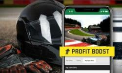 Vormel 1 Belgia Grand Prix kasumivõimendus Unibetis