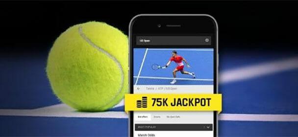 Vaata tasuta US Open 2018 otseülekandeid ja osale €75 000 loosis
