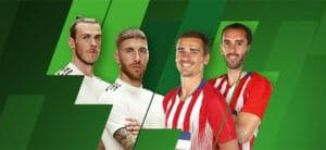Unibet TV nädala mäng Real Madrid vs Atlético Madrid kasumivõimendus