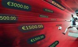 Spordiennustuse jackpoti jaht Betsafe's – auhinnafond €10 000