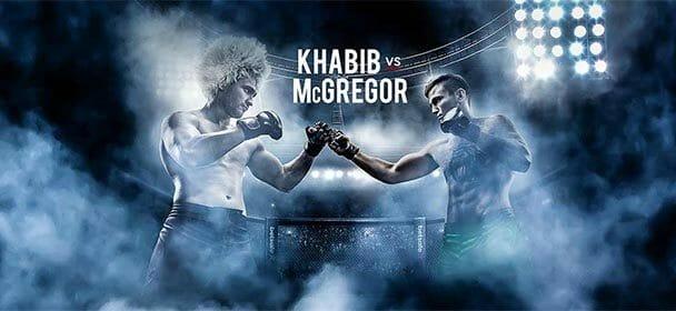 McGregor VS Khabib superkoefitsient uuele kliendile Betsafes