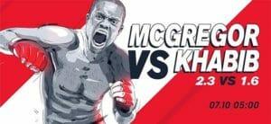 Olybet Spordibaarides UFC 229 McGregor vs Khabib otseülekanne