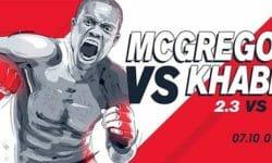 UFC 229 McGregor vs Khabib live ülekanne Olybet spordibaarides