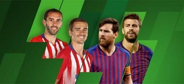 Vaata tasuta – Unibet TV nädala mäng Atlético Madrid vs FC Barcelona