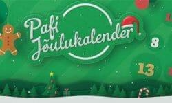 Paf jõulukalender 2018 – tasuta raha, keerutused ja loosimised