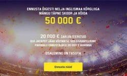 Premier League tasuta ennustusmäng Unibetis – Jackpot €50 000