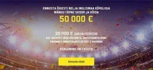 Unibet - € 50 000 tasuta premier league ennustusvõistlus