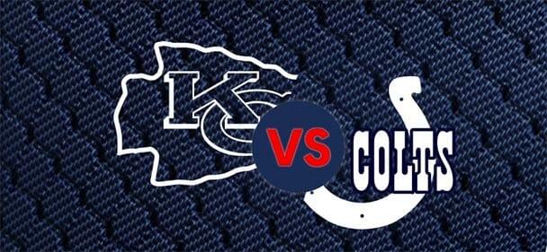 Olybet - NFL Kansas City Chiefs vs Indianapolis Colts võidud duublis