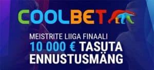 Coolbet - Meistrite liiga 2020 finaali tasuta ennustusvõistlus