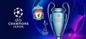 Meistrite Liiga finaal - Tottenham vs Liverpool koefitsiendid eesti kihlveokontorites