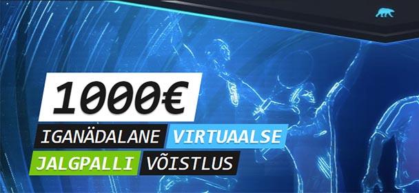 Coolbet - Virtuaalspordi panustamise võistlus