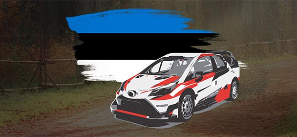 Optibet - Rally Estonia 2019 sissemakse boonus
