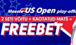 Olybet'is US Open 2019 play-offides kaotuse korral raha tagasi