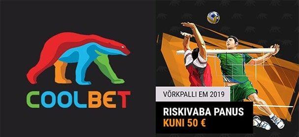 Võrkpalli EM 2019 ajakava & €50 riskivaba panus Coolbet'is