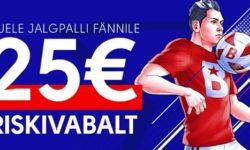 EURO 2020 valikmängud Olybet'is – uuele kliendile €25 riskivaba panus