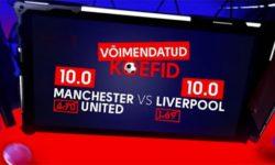 Olybet'i Inglise kõrgliiga tervituspakkumine – Manchester United vs Liverpool