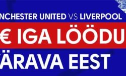 Manchester United vs Liverpool – Olybet'is iga värava eest tasuta panus
