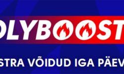 Olyboost – Olybet spordiennustuses iga päev võimendatud koefitsiendid
