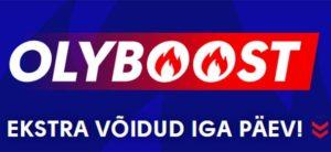 Olybet - Olyboostiga iga päev võimendatud koefitsiendid