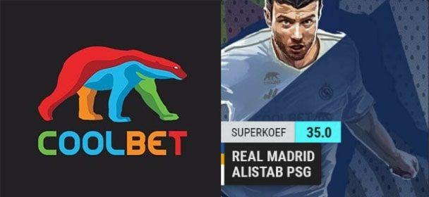 Meistrite Liiga – Real Madrid vs PSG uue kliendi superkoef Coolbet'is