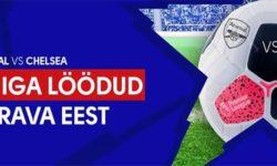 Londoni Derby Arsenal vs Chelsea – iga värava eest €5 tasuta panus