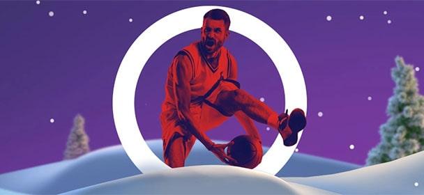 Optibet - jõulukalender 2019 korvpalli riskivabad panused